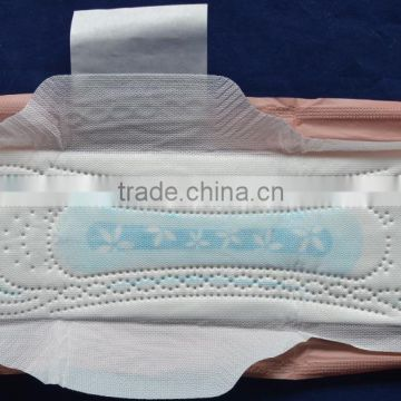 Hotselling Super Absorbent Feature and Ultra Thin Type sanitary pad