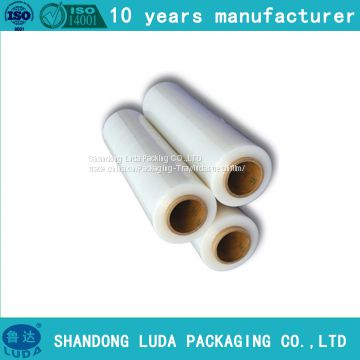 handmade various packaging Stretch film roll production process