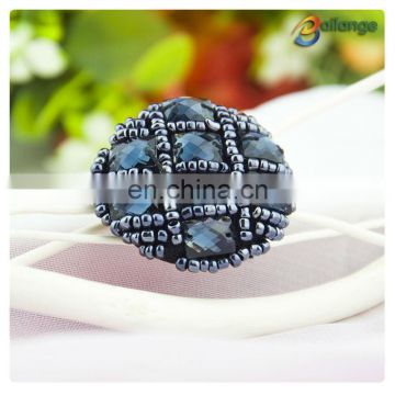 Bailange new design wholesale rhinestone beaded button for women garment