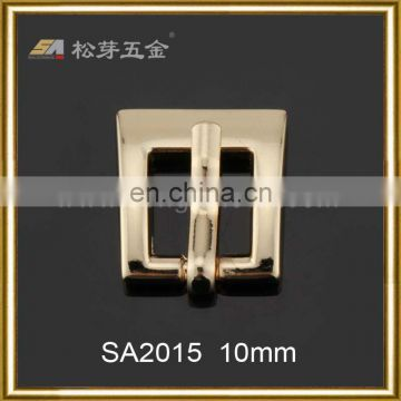 High quality fashion mini metal coat belt buckle manufacturers