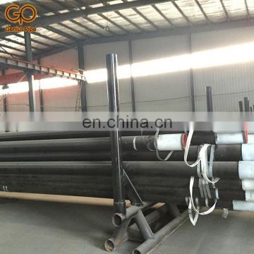 large diameter 6m length schedule 80 carbon seamless steel pipe
