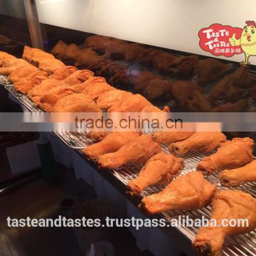 TASTE AND TASTES HALAL CRISPY FRIED CHICKEN POWDER/ FAST FOOD/ MEAT