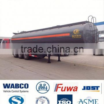 cheap chemical liquid transport semi trailer