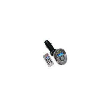 Car MP3 FM Transmitter with flash memory--PM-118T