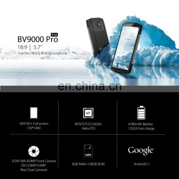 "Wholesale New Original Blackview BV9000 4G FDD-LTE Waterproof Phone MTK6737 Octa Core 5.7""1440X720P RAM4GB ROM64GB 4180mAh"