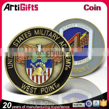 2017 Manufactory production gold metal souvenir coin