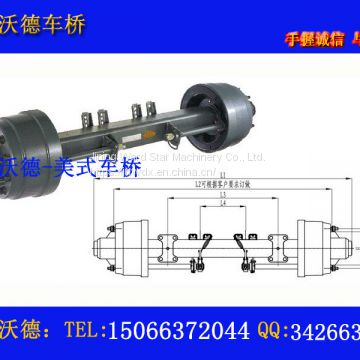 Special production of all kinds of American axle can be customized according to customer needs.