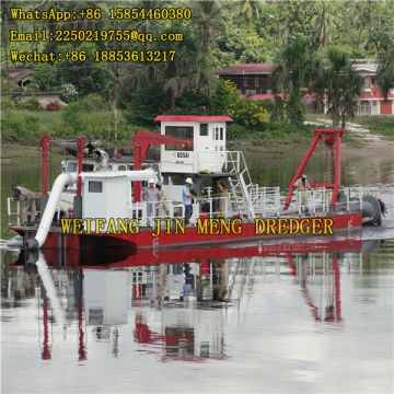 Strong Power River Dredging Equipment Cutter Suction Dredger 300 - 600kw