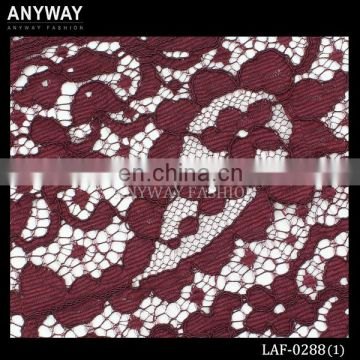 fashion embellished lace fabric for dress