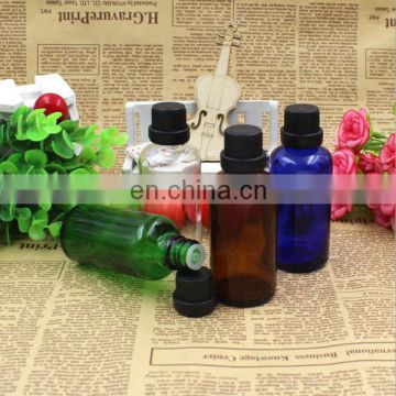 Wholesale cosmetic essential oil glass bottle with screw cap 100ml