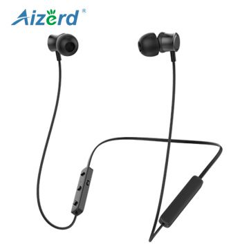 Manufacturer Waterproof Stereo Sport Bluetooth Original Neckband Metal Mini Wired Earphone