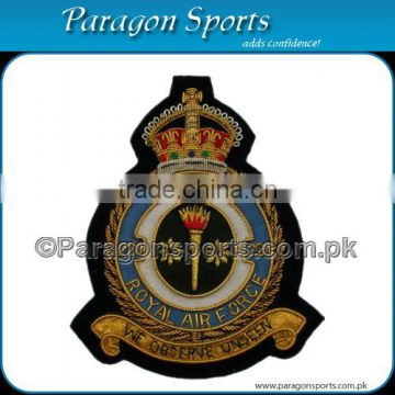 Squadron Royal Air Force Bullion We Observe Unseen Badge Handmade Embroidered Air Force Badges
