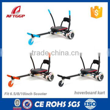 Wholesale Top Quality Hoverboard Bracket With Alluminium Hovercart Go Cart Handle Hoverkarts With Seats