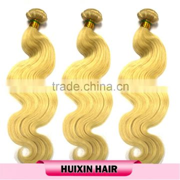 Aliexpress hair bundles human hair weave 100% raw unprocessed virgin peruvian ,brazilian body wave 613 color human hair weaving