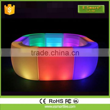 illuminated commercial LED bar counter design Commercial Bar Counters Outdoor Furniture Hanging Chair