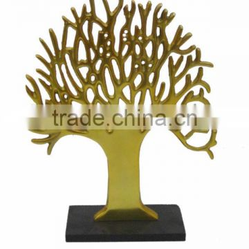 Aluminium Tree Golden