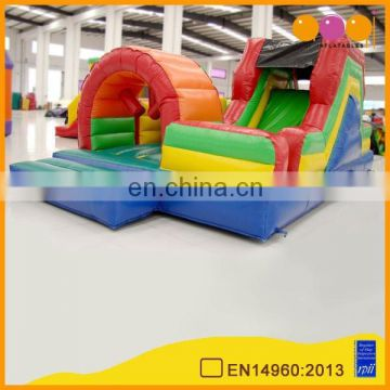AOQI products top quality children inflatable obstacle course/interactive games