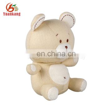Wholesale cheap custom organic cotton teddy bear plush baby toys