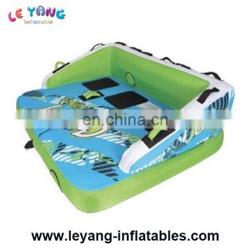 Crazy UFO Towable Ski Tubes Inflatable Sting Ray Boat for Water Games