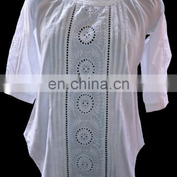 latest fashion ladies blouse