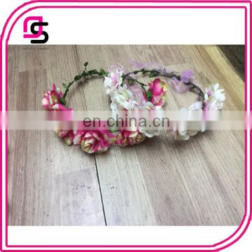 2017 fahsion hair accessories flower rose clip