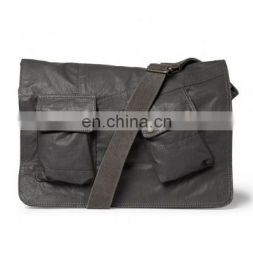 Aliaba latest design for mens leather messenger bag