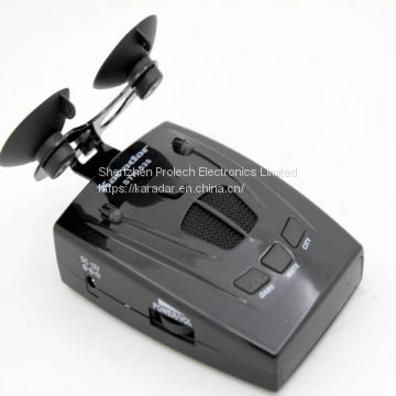 Speed Trap Detectors Lasereye Defender 535str Windscreen Bracket and In-vehicle Charger Included