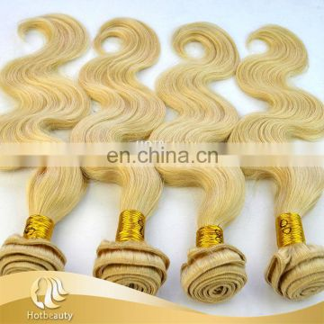 Top Sell 12''-26'' Natural Color Indian Blonde Remy Wavy Hair