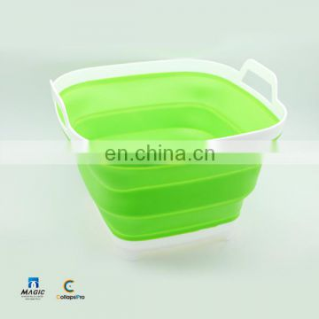 16L Collapsible Plastic Bucket