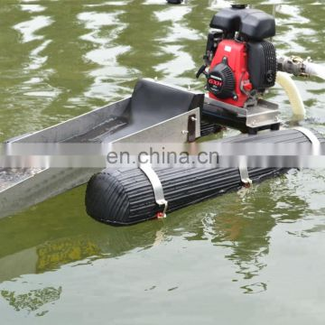 Chinese gold dredging boat with rubber mate for sale