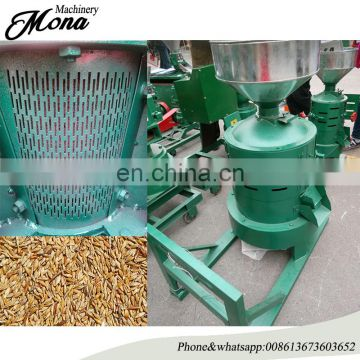 200-500kg/h Buckwheat Sorghum kernel seeds peeling machine/Factory price Oat Skin millet paddy dehuller machine