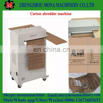 Best after-sale service Paper carton crushing machine/scrap foam shredder Supplied with good feedback