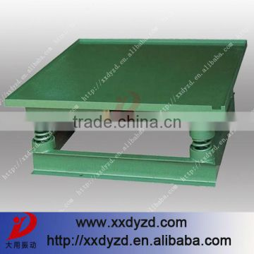 DY factory price vibrating table concrete for paver