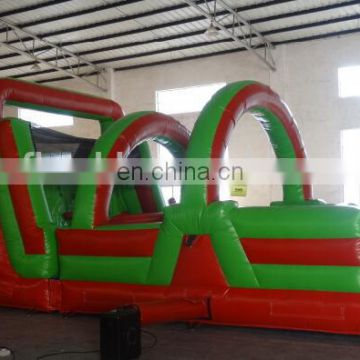 hot sale small inflatable obstacle course for kids