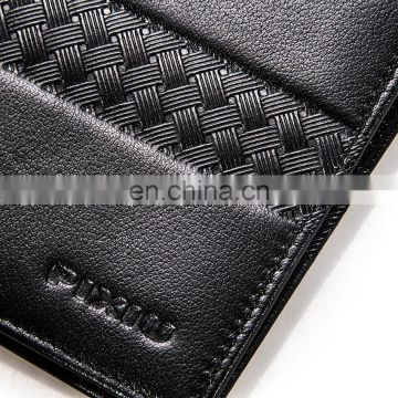 Manufacturer New Design Good Handmade Leather Wallet Pattern