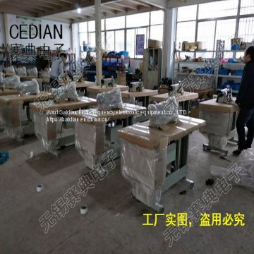 Ultrasonic non-woven fabric lace beading machine