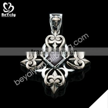 stainless steel custom available fashion letter p pendant jewelry