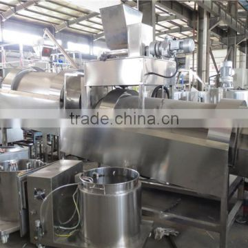 Twin-screw extruder snacks food machine/production line
