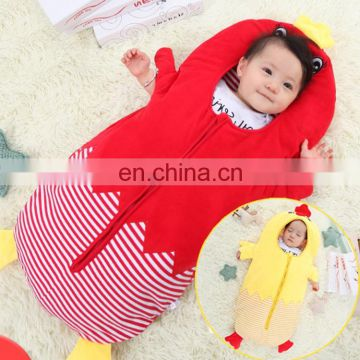 cheapest Sleeping bag ,Baby Sleeping Clothing Bag for 0-6 Month Baby, Size: 85yard (Red)