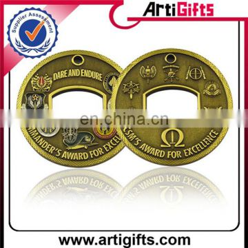 OEM and ODM promotional metal sovenir coin