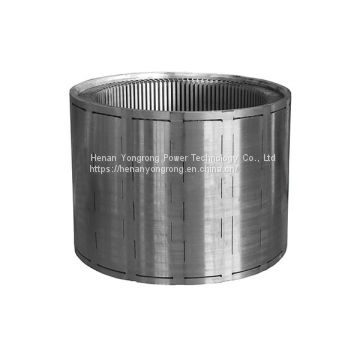 High efficiency silicon steel lamination electric motor stamping stackings generator rotor stator core