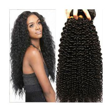 9A Brazilian Kinky Curly 3 Bundles Human Virgin Hair Weave