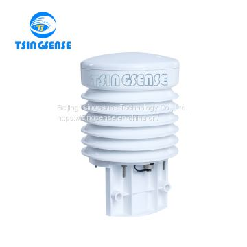 WTS201 outdoor weather sensor integrated with air temperature and humidity sensor GPRS/RS485 output