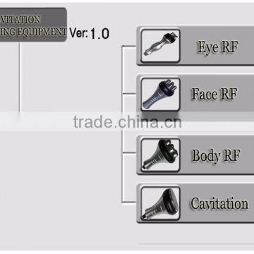 RF Radio Frequency Cavitation 100J System Body Slimming Machine Ultrasonic Fat Cavitation Machine