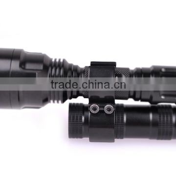 High quality wholesale High Quality Metal Double Iron Flashlight Hunting Gun mount Rifle Scope Mount Factory patented products
