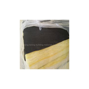 Glass wool faced black