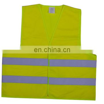 Hot sale yellow reflective safety vest with low price