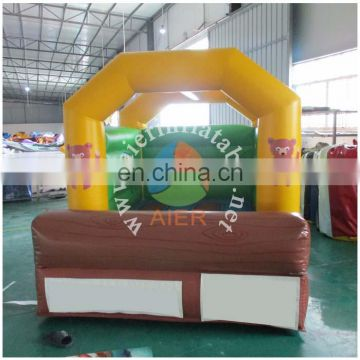 2017 Aier new design inflatable castle for sale/commercial use animal themed inflatable bouncy castle