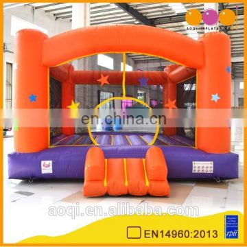 AOQI products durable PVC inflatable stars moonwalks for kids