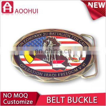 High quality die casting souvenir clamp belt buckle